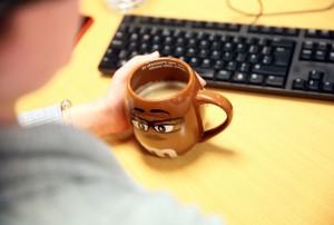 Freshly Brewed Coffee !